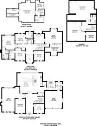 Large floorplan for Mount Road, Hook Heath, GU22