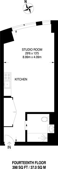 Large floorplan for Eagle Point, Islington, EC1V
