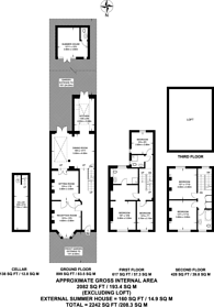 Large floorplan for Lenthall Road, London Fields, E8