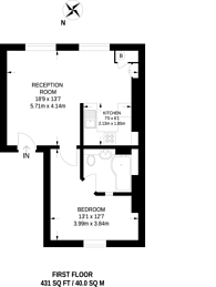 Large floorplan for Tufnell Park Road, Tufnell Park, N7