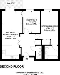 Large floorplan for Nautilus Building, Angel, EC1R