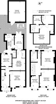 Large floorplan for Horn Lane, Acton, W3