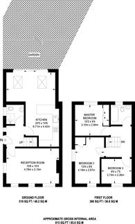 Large floorplan for Longstaff Crescent, Earlsfield, SW18