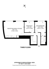 Large floorplan for Christina Street, Shoreditch, EC2A