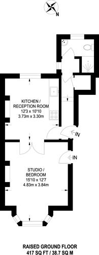 Large floorplan for Ferntower Road, Highbury, N5