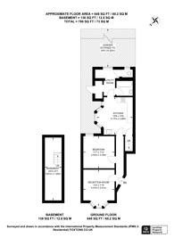 Large floorplan for Harold Road, Upton Park, E13