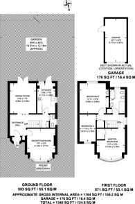 Large floorplan for Bodley Road, New Malden, KT3