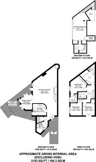 Large floorplan for Osborne Road, Willesden Green, NW2