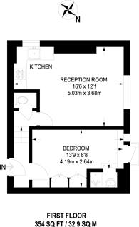 Large floorplan for Glenloch Road, Hampstead, NW3