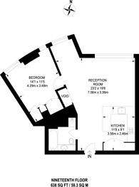 Large floorplan for Old Street, Old Street, EC1V