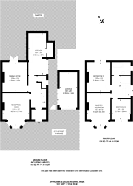 Large floorplan for Wentworth Park, West Finchley, N3