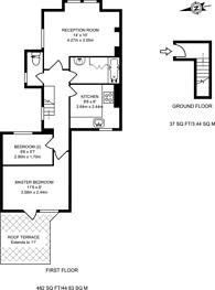 Large floorplan for Montefiore Street, Diamond Conservation Area, SW8