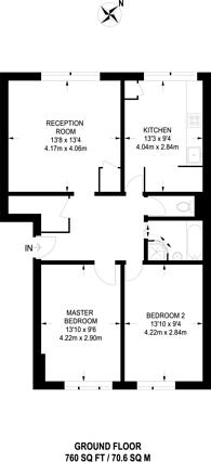 Large floorplan for Clegg Street, Plaistow, E13