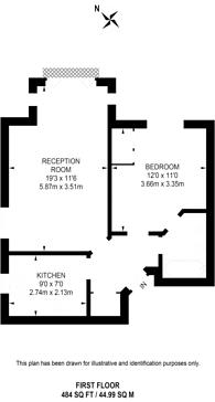 Large floorplan for Berisford Mews, Wandsworth, SW18