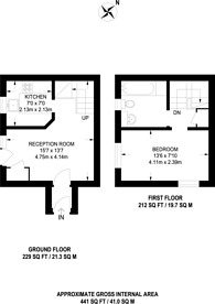 Large floorplan for Hickman Close, Beckton, E16