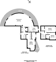 Large floorplan for Vicentia Court, Battersea, SW11