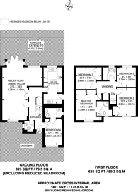 Large floorplan for The Squirrels, Pinner, HA5