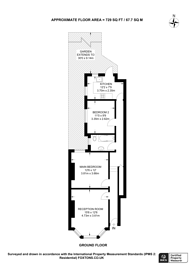 Large floorplan for Albert Road, Bounds Green, N22