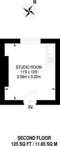 Large floorplan for Pembridge Villas, Notting Hill, W11