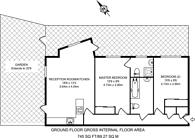Large floorplan for Alexandra Road, Hounslow, TW3