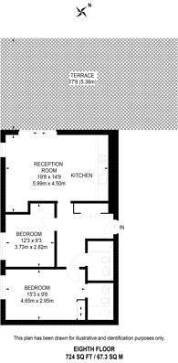 Large floorplan for Conington Road, Deptford, SE13