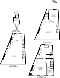 Large floorplan for Launceston Place, Kensington, W8
