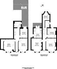 Large floorplan for Byrne Road, Balham, SW12