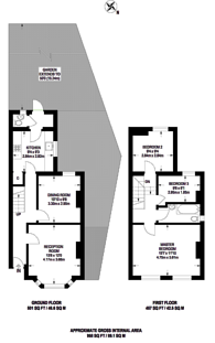 Large floorplan for Leslie Park Road, East Croydon, CR0