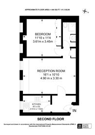 Large floorplan for Edgware Road, Hyde Park Estate, W2
