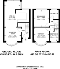 Large floorplan for Applegarth Drive, Aldborough, IG2