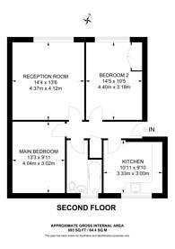 Large floorplan for Mount Avenue, Ealing, W5