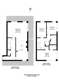 Large floorplan for One New Malden, New Malden, KT3
