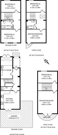 Large floorplan for Mariners Mews, Isle Of Dogs, E14