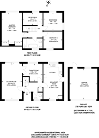 Large floorplan for Pine View Close, Chilworth, GU4