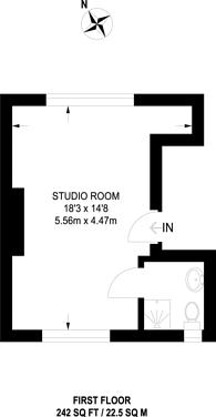 Large floorplan for Lascelles Avenue, Harrow, HA1