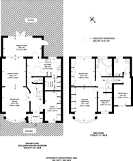 Large floorplan for Mayfield Avenue, Kenton, HA3
