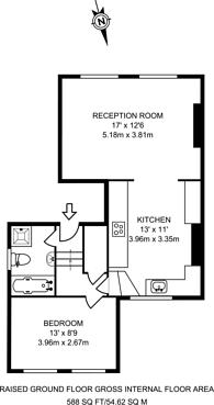 Large floorplan for Englefield Road, Islington, N1
