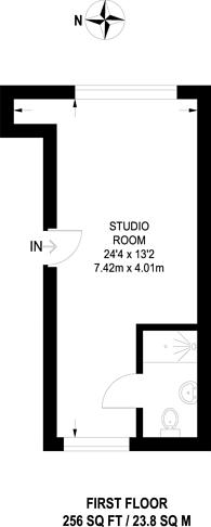 Large floorplan for Bessborough Road, Harrow, HA1