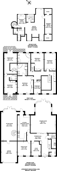 Large floorplan for Hainault Road, Chigwell, IG7