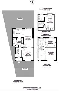 Large floorplan for West Close, Greenford, UB6