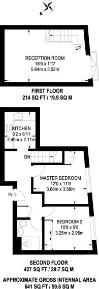 Large floorplan for Old Castle Street, Aldgate, E1
