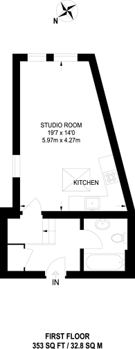 Large floorplan for Lee Road, Blackheath, SE3