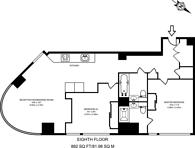 Large floorplan for City Road, Old Street, EC1V