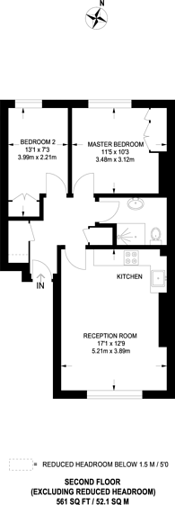Large floorplan for Talbot Road, Notting Hill, W2