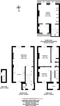 Large floorplan for Durham Terrace, Westbourne Grove, W2