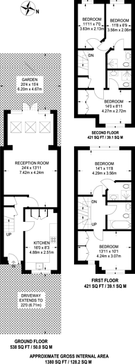 Large floorplan for Mast House Terrace, Isle Of Dogs, E14