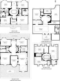 Large floorplan for Beech Hill, Hadley Wood, EN4