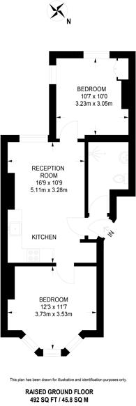 Large floorplan for Heathfield Road, South Croydon, CR0