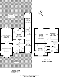 Large floorplan for St Thomas Drive, Hatch End, HA5