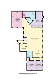 Large floorplan for Richmond Mews, Soho, W1D